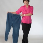 Donna After with previous pants size