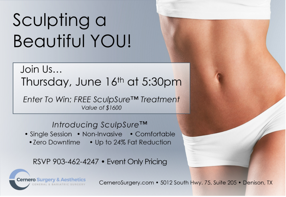 SculpSure Body Contouring Event